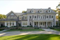 Exterior house color: Gray Huskie by Benjamin Moore