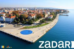 Sea Organ and Greeting to the Sun in Zadar, Croatia