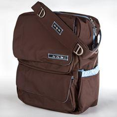 Ju Ju Be Brown Robin Pack a Be - potential diaper bag