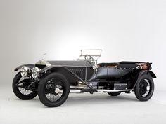 1912 Rolls-Royce Silver Ghost 40-50 hp London to Edinburgh Light Tourer