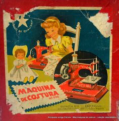 Ana Caldatto: Voormalig Mini Naaimachine Estrelinha