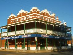 Dunedoo is a town in NSW Central West, but almost every rural town in Australia has an old friendly pub like this one. Australia Living, Old Pub, Native Country, Land Of Oz, Rock Pools, Walkabout, Adventure Tours, British Colonial, Tips