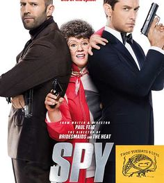 Melissa McCarthy owns #Comedy in #SpyMovie and owns #TacoTuesday