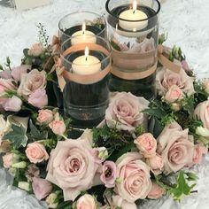 Happy Wedding Wednesday everyone  #kentweddingflorist #tablecentrepiece #weddingfloristkent #venuestylist #kent #sittingbourneflorist #flowersandsparkle #candles #lush #luxurywedding #chaircovers #weddinginvitations