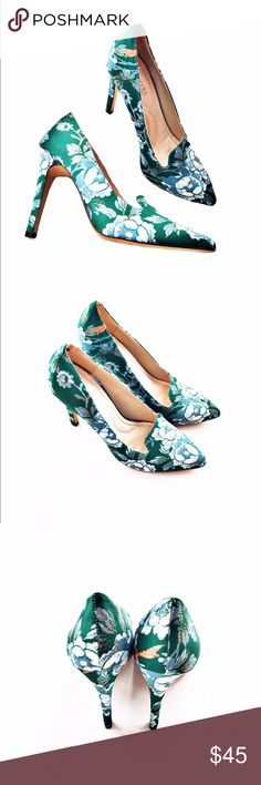 NEW Eva Mendes for NY & Co. floral heels New without box! Gorgeous floral heels from Eva Mendes for New York & Company, size 8. (Please note, all photos were taken by me of the actual item.) New York & Company Shoes Heels