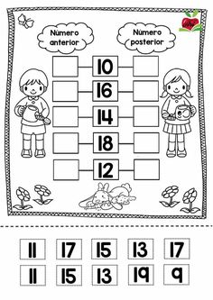 Animals Count and Clip Cards (Numbers Math Games, Learning Activities, Kids Learning, Kids Math Worksheets, Preschool Printables, Math Literacy, Kindergarten Math, Anterior Y Posterior, Math Sheets