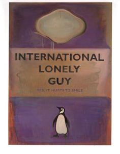 Introspective Stuff | Harland Miller | International Lonely Guy