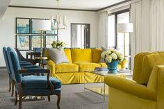 Chancellor Hotel | Tobi Fairley & Associates  drapery trim