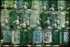 Old Seltzer bottles
