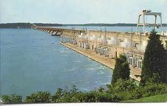Wheeler Dam Tennessee River at Muscle Shoals Alabama