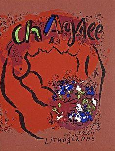 "Marc Chagall, ""Chagall lithographe Vol I, 1922-1957"". Fernand Mourlot. #art #artists #chagall"
