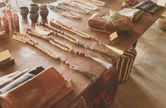 Beaded necklace and tassel http://beamandanchor.com/wp-content/uploads/2013/06/b3.jpg