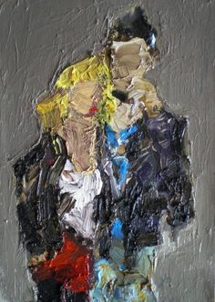 "Saatchi Art Artist Fabienne Jenny Jacquet; Painting, ""Sid and Nancy"" #art"