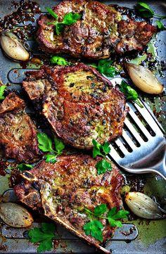 Pesto Baked Pork Chops Recipe – Oven-Baked Pork Chops Recipe — Eatwell101