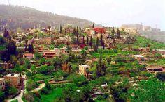 عبن كارم، القدس، فلسطين Ein Karem, Jerusalem, Palestine