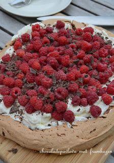 Jace did it !: Chocoladepavlova !