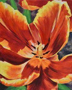 Tulip-Original Acrylic Painting