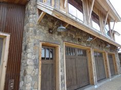 This Maine home has amazing views of Sunday River. It has a Colorado Rockies meets mining camp theme. The entire home consists of recycled and sustainable materials. The Boston Blend Round veneer was the perfect natural stone choice. It adds a rustic touch with colors that blend perfectly with the surrounding environment.    Skip planed snow fence boards were used as siding. Accents of Corten metal with a rusting finish.    www.stoneyard.com/956 for photos and video!