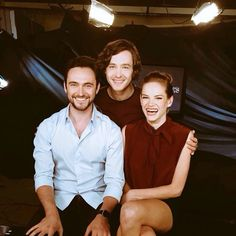 Versailles Cast - George Blagden, Noémie Schmidt & Alexander Vlahos