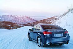 2010 Blue Legacy GT - Snow
