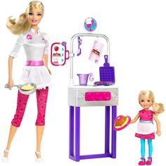 Barbie I Can Be Pancake Chef Doll Play Set