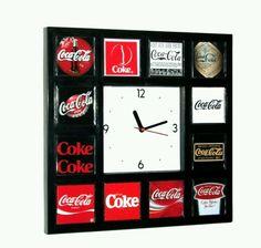 Coca cola wall clock...LC