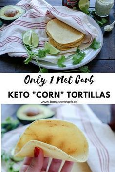 1 NET CARB!!! Best tortilla recipe I have ever tried. Not eggy, holds up so well, can be baked to make them crunchy too! #ketotortillas #ketorecipes #ketotacorecipes #ketodinnerideas #ketodiet #ketosis