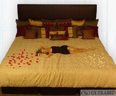 Alaskan King Size Bed 9x9 Ft Dreams In 2019 Bed King Beds Bedroom