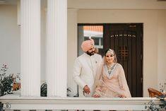 sikh couple portrait #shaadiwish #sikhcouple #sikhgroom #sikhbride #bridallehenga #sherwani #sabyasachi #indianwedding