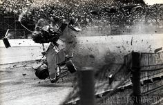Patrick Bedard's Indy 500 1984 crash. He survived that with relatively minor injuries