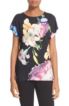 88f814c04213 Ted Baker London Ted Baker London  Tapestry Flora  Print Tee available at   Nordstrom