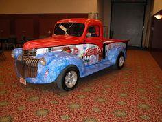 1942 chevy pickup Antique Trucks, Vintage Trucks, Pin Up Girls, Coca Cola, Diet Pepsi, Soft Drink, Chevy Pickups, Mountain Dew, Vintage Tools