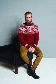 Dale of Norway Haukeli Masculine Sweater