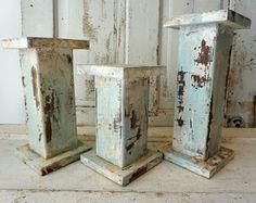 Handmade wood columns – Etsy