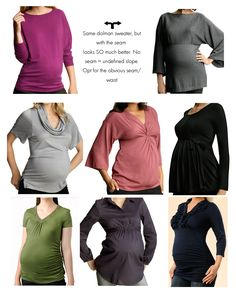 great tutorial on what to wear for maternity pictures