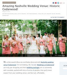 Cedarwood is a Fantastic Southern Destination Wedding Venue | Cedarwood Weddings