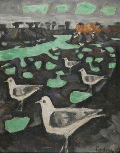 Julian Trevelyan. 1910-1988 Gulls