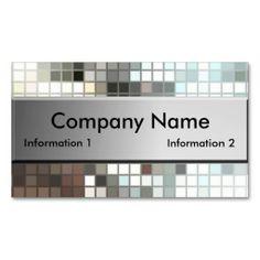 Art Entertainment Premium Business Cards mosaic mosaic tile DO