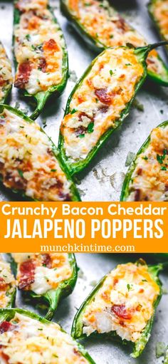 Crunchy Bacon Cheddar Jalapeno Poppers Recipe