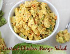 Curry and Comfort: Curried Chicken and Mango Chutney Salad