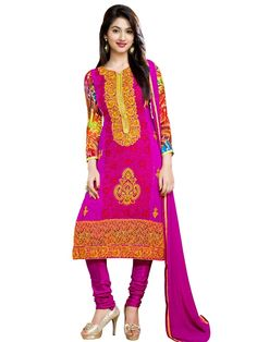 Magnificent Salwar Kameez is a right choice of apparels for your wardrobe. Item Code: SLRBI1003P