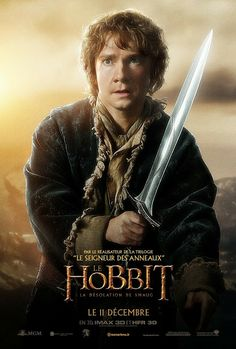 The Hobbit: The Desolation of Smaug (2013) - Bilbo Baggins Pictures