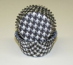 Houndstooth Cupcake Baking Cups