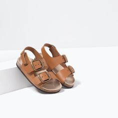 LEATHER HOOK AND LOOP SANDALS-SHOES-BABY BOY | 3 months-3 years-KIDS | ZARA Canada Baby Sandals, Shoes Sandals, Baby Boy Outfits, Chuck Taylors, Converse Chuck Taylor, Birkenstock, Zara, 3 Months, Michael Kors