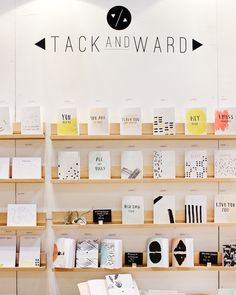 Oh So Beautiful Paper: National Stationery Show 2015, Part 5 / Tack and Ward