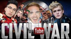Funny Video: YouTube Civil War 2017 ft. Pewdiepie Ricegum Jake Paul and More! https://www.youtube.com/watch?v=YVI8oJwrHOU