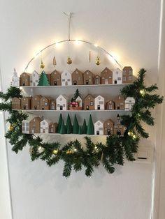 Noel Christmas, Christmas Crafts For Kids, Xmas Crafts, Simple Christmas, Christmas Ornaments, Country Christmas, Homemade Advent Calendars, Diy Advent Calendar, Diy Weihnachten