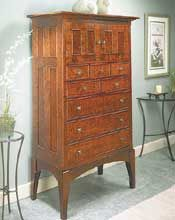 tall chest woodworking plan