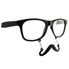 Vous aviez toujours rêvé de combiner lunettes de soleil et fausse moustache ? Le voici exaucé avec cet objet.