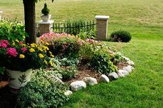 Landscape edging is often overlooked when designing the layout for your yard or garden. There are several different edging types available, such as stone, plastic, brick, or metal.